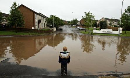 Amber warning after severe floods