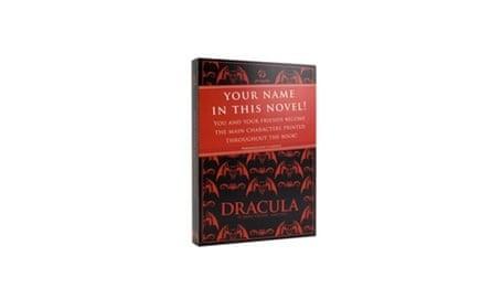 Personalised Dracula/Frankenstein books