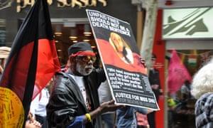 WA deaths in custody protest
