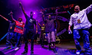 Wu-Tang Clan in concert, Brooklyn Bowl, Las Vegas, America - 18 Sep 2014