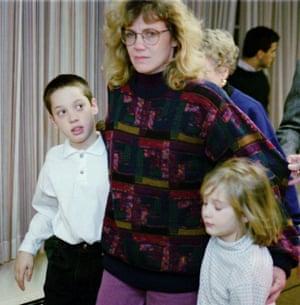 Nancy Schultz and kids