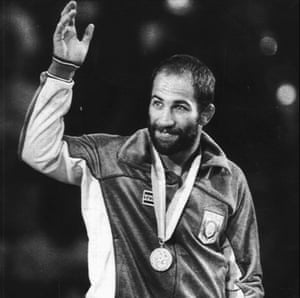 dave schultz at olympics 1984