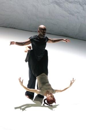 Akram Khan and Sylvie Guillem in Sacred Monsters at Sadler's Wells