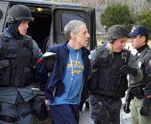 John E. du Pont is arrested