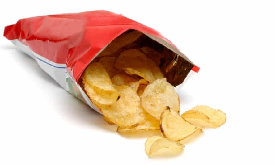 packet of crisps