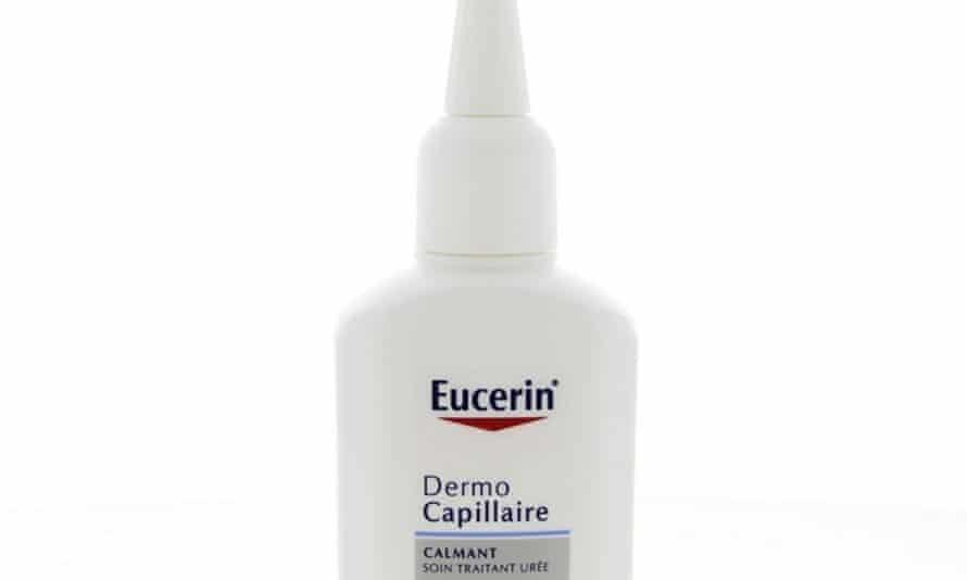 Eucerin DermoCapillaire scalp treatment.