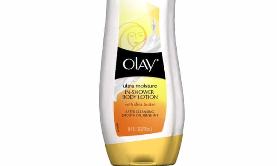 Olay In-Shower body lotion.