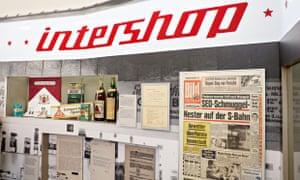 GDR era Intershop exhibit