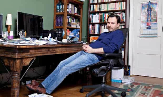 """Simon Anholt at home in Norfolk: 'Who is Russell Brand?"""""""