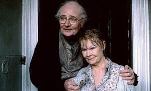 Broadbent with Judi Dench in Iris. Photograph: Allstar/BBC/Sportsphoto Ltd