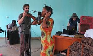 Terry Riley In C Mali africa express recording Bijou Lil Silva Andre de Ridder Jeff Wootton