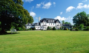 Great outdoors: Ilsington Country House Hotel.
