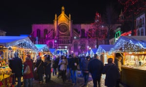 the Winter Wonders Christmas Market in Brussels