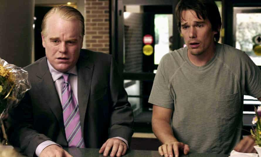 Hawke with Philip Seymour Hoffman in Before The Devil Knows You're Dead.