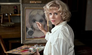 Amy Adams as Margaret Keane in Tim Burton's Big Eyes.
