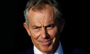 Deserving recipient? Tony Blair.