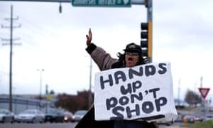 Black Friday protest Ferguson
