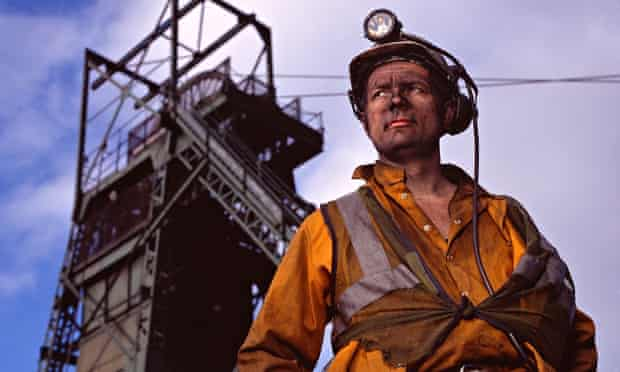 Coalminer in South Wales
