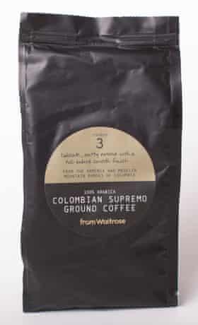 Waitrose ground coffee.