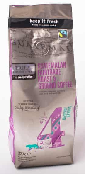 Co-op ground coffee.