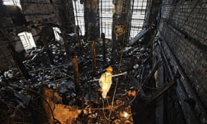 ***BESTPIX***Forensic Archaeologists Begin Work On The Fire  Damaged Mackintosh Library