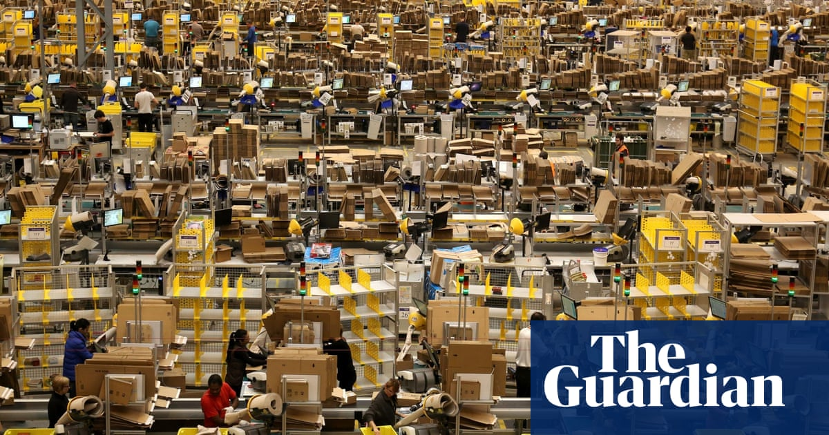 Being homeless is better than working for Amazon' | Money | The Guardian