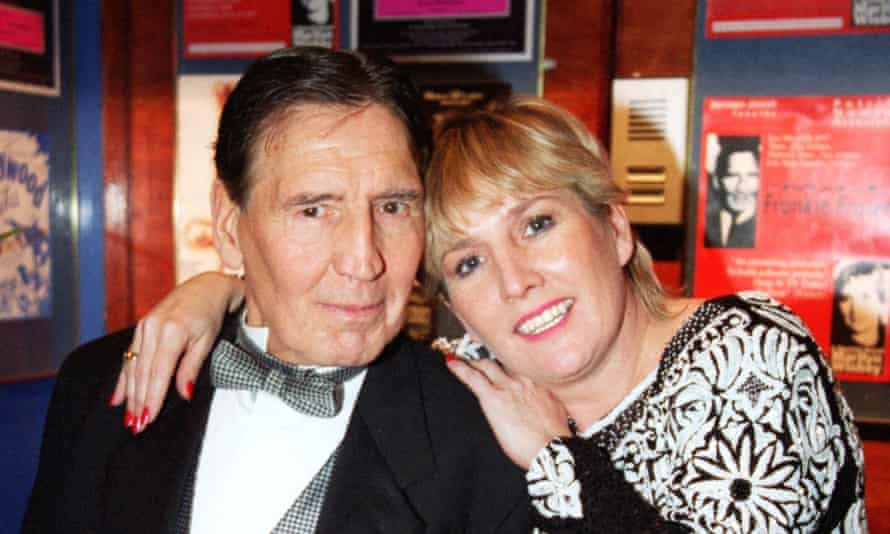 Frankie Fraser with girlfriend Marilyn Wisbey – daughter of the Great Train Robber Tom Wisbey.