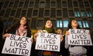 Ferguson protest in London