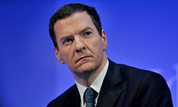 George Osborne Uk chancellor