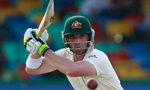 Phillip Hughes during the fourth day of the third Test against Sri Lanka in Colombo in 2011.