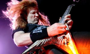 Dave Mustaine of Megadeth: one of the two remaining members (Photo by Shirlaine Forrest/WireImage)