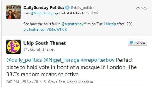 UKIP tweet