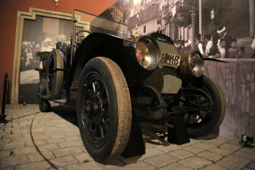 Franz Ferdinand's car in Vienna's Military Museum.