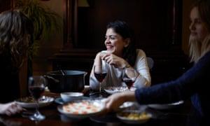 Sabrina Ghayour entertaining at home