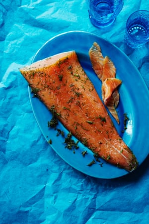 Cured salmon – or gravadlax – is a typical Scandi dish.