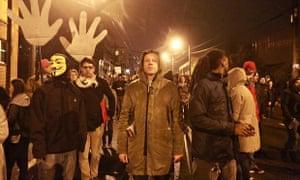 Macklemore protest