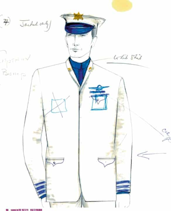 Hardy Amies designs for 2001: Space Oddyssey