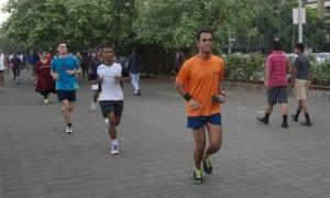 Runners in Mumbai