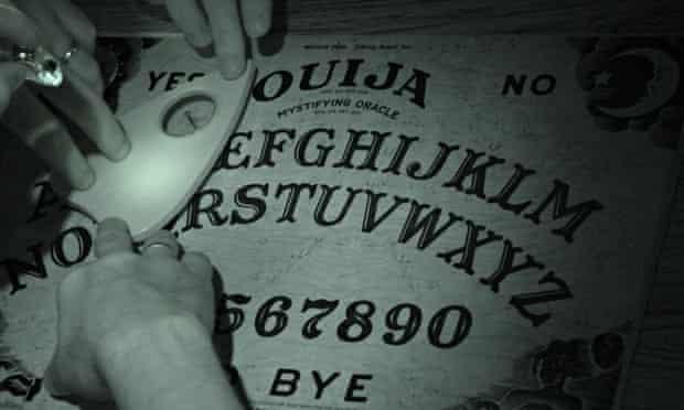 A film still from Ouija, 2014