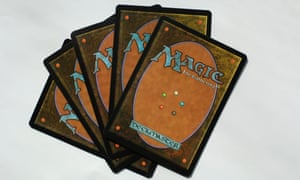 Magic, The Gathering cards