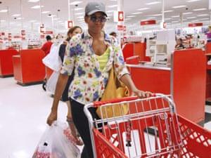 Obama Target shopping