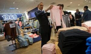 Obama Gap shopping