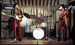 Jimi Hendrix Experience in concert at the Marquee Club, London, Britain - March 1967