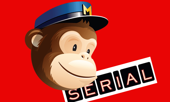 the mail chimp logo and serial logo