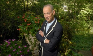 The 'pope of trash', film director and writer John Waters.
