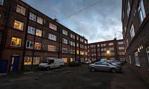 The New Era estate, Hoxton, London