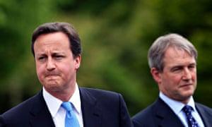 David Cameron and Owen Paterson