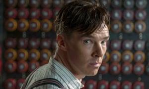 Benedict Cumberbatch plays Alan Turing in the film The Imitation Game (2014)