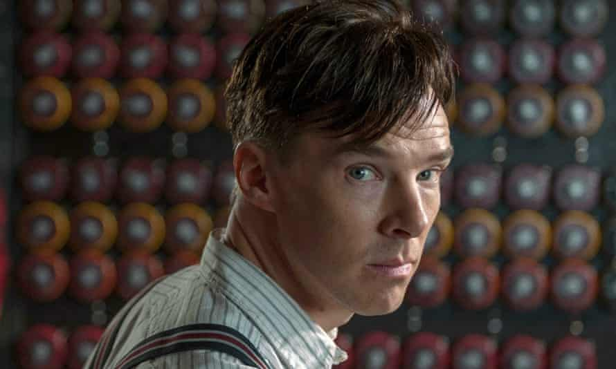 Benedict Cumberbatch plays Alan Turing in the film The Imitation Game (2014)