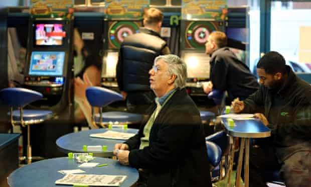 A betting shop